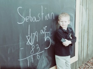 Sebastian - age 5 Lutz Learning Center
