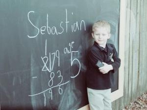 Sebastian - age 5 Lutz Learning Center